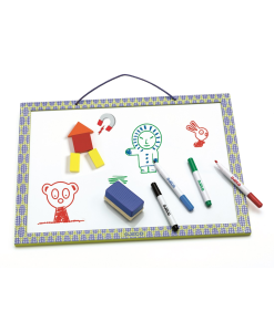 Magnetic Board With Markers And Sponge