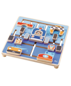 Wooden Puzzle Maze Mechanic