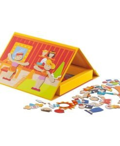 Wooden Magnetic Circus
