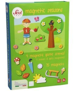 Wooden Magnetic Seasons