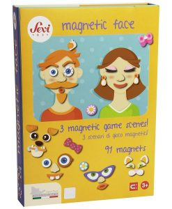 Wooden Magnetic Face - 91 pcs