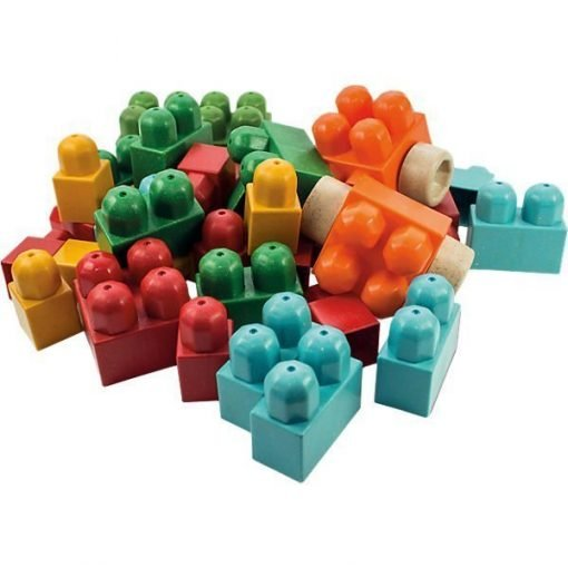 Antibacterial building blocks - 45 pcs
