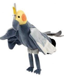 Handpuppet Cockatiel