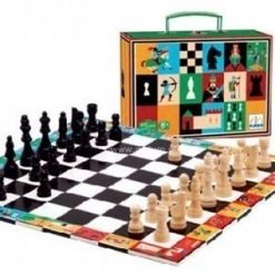 Wooden Chess In A Box