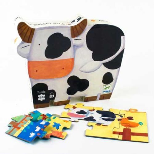 Puzzle Hard Paper Cow