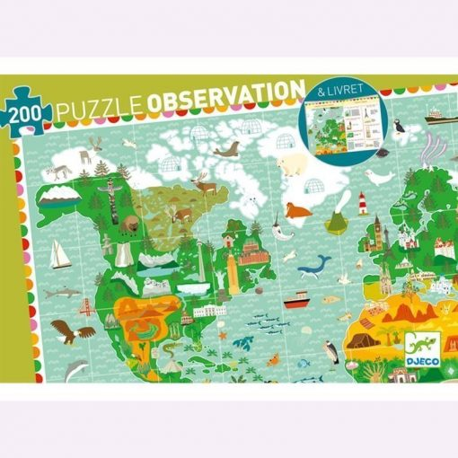 Puzzle World 200 Pcs