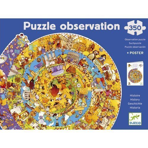 History Of The World Puzzle - 350 pcs