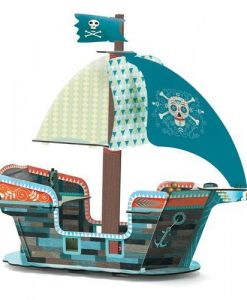 3D - Pirate Boat