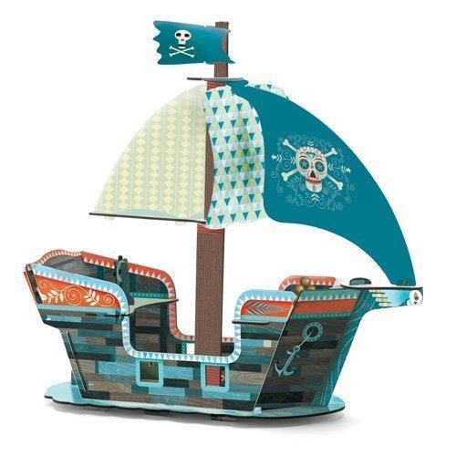 3D - Pirate Boat