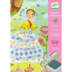 Flower Maidens Stamps Art