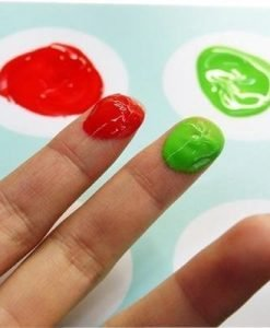 6 Finger Paint Tubes by Djeco