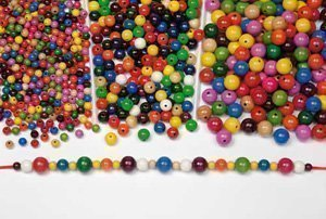 500 Wooden Beads 16Mm