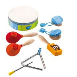 Wooden Percussion Set of 5 Instruments