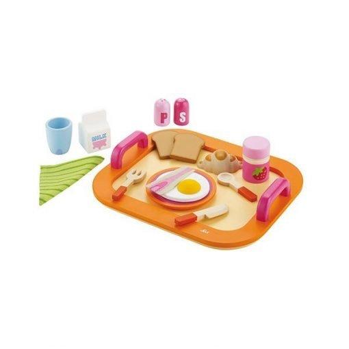 Wooden Breakfast Tray