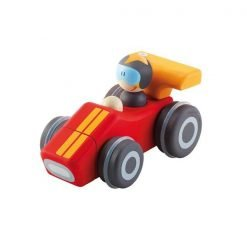 Wooden Squeaky Car sporty