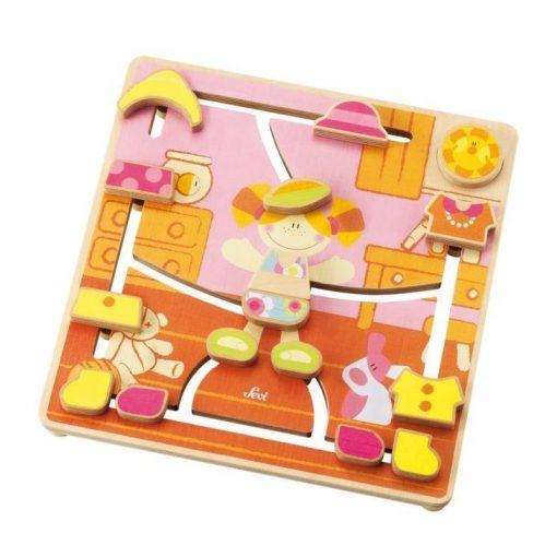 Wooden Puzzle Maze Fashion