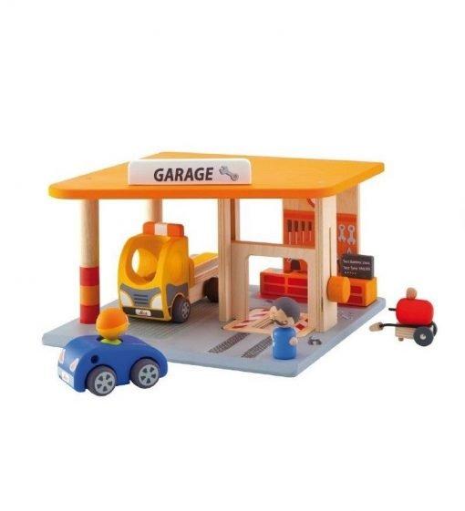 Wooden Garage Parking