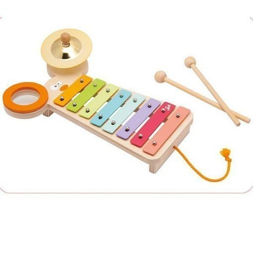 Wooden Metal Xylophone with activities Mouse