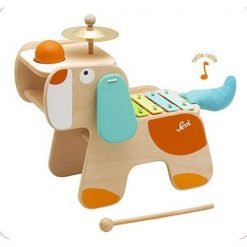 Wooden Music Center Dog