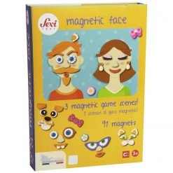 Wooden Magnetic Face - 91 pcs