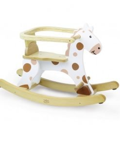 White Horse with Removable Hoop