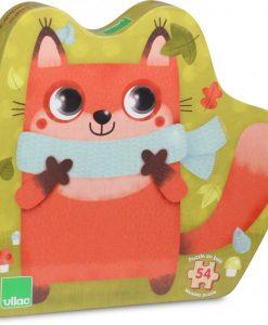 Wooden Puzzle 54pcs - Fox