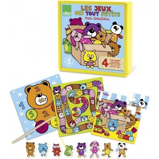 Set of Board Games for the Little Ones