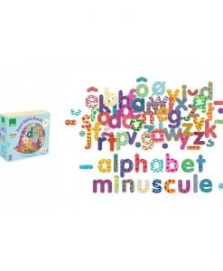 81 Wooden Magnetic Lowercase Letters