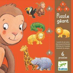 Puzzle Wild Animals