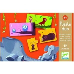 Puzzle Mama And Child