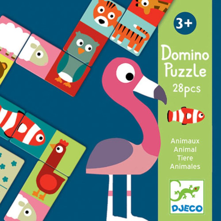 Domino Puzzle Animals