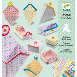 Origami Colored Boxes