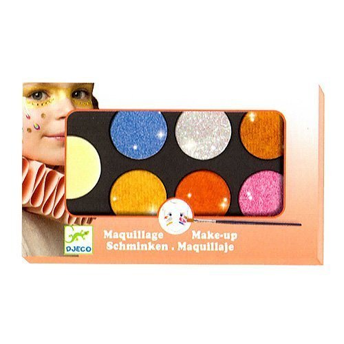 6 Metallic Colors Face Painting