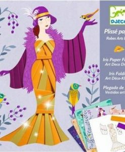 Art Deco Dresses, Iris Paper Folding