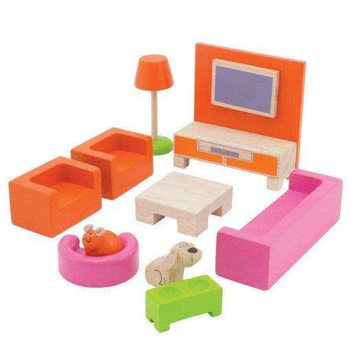 Portable Dollhouse - Complete Set