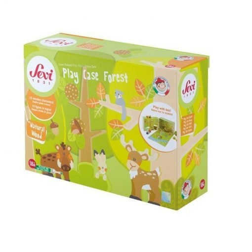 Wooden Musical Play Case Forest