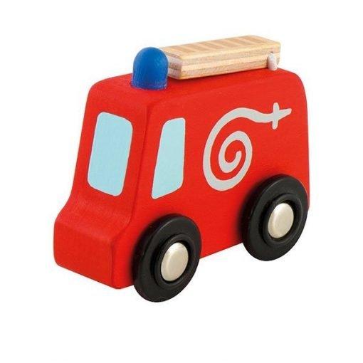 Wooden Mini Fire Engine