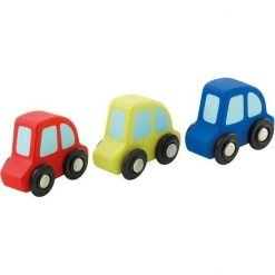 Wooden Mini Cars set (3 pcs.)