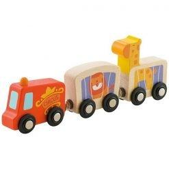 Wooden Mini Circus Caravan
