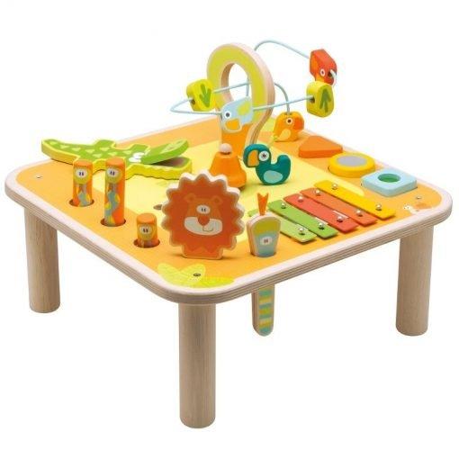 Wooden Multiactivity Table
