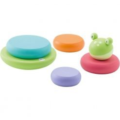 Wooden Stacking magnetic Frog