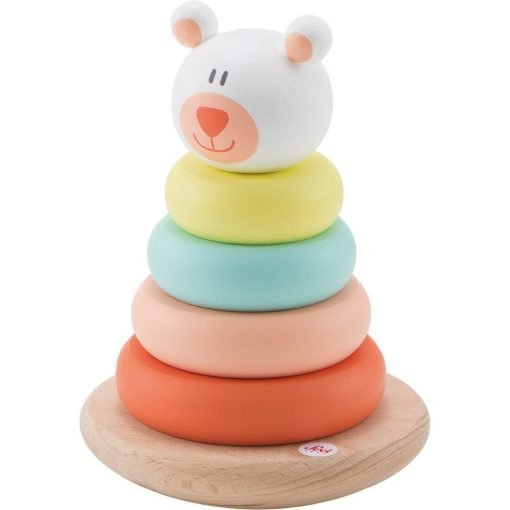 Wooden Stacking magnetic Bear