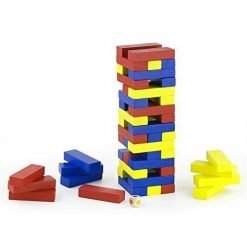 Blocks Tower w/ dice
