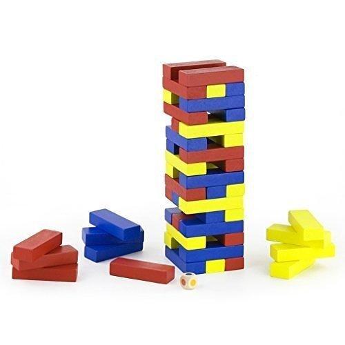 Blocks Tower w/ dice