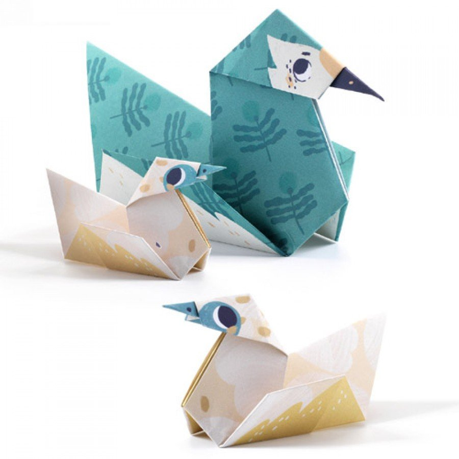 Blue Green Djeco DJ08779 Small Gifts-Origami Toys & Games Novelty ...