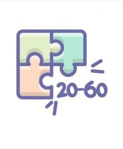 20-60 pieces
