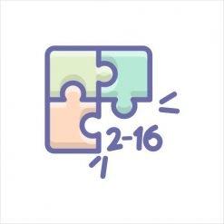 2-16 pieces